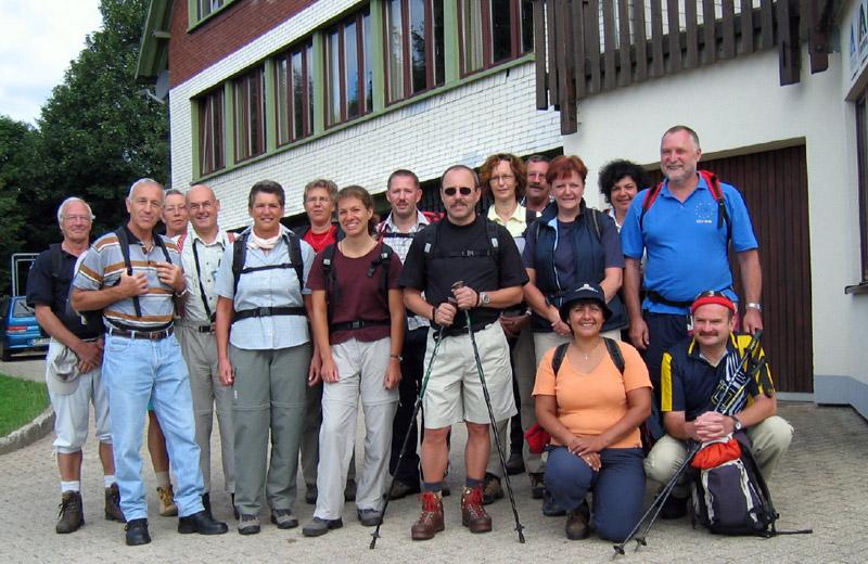 LCWT Wanderung 2005